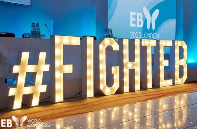 Slogan #FIGHTEB LED